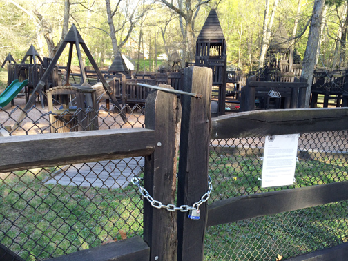 Strat's playground has been closed indefinitely.