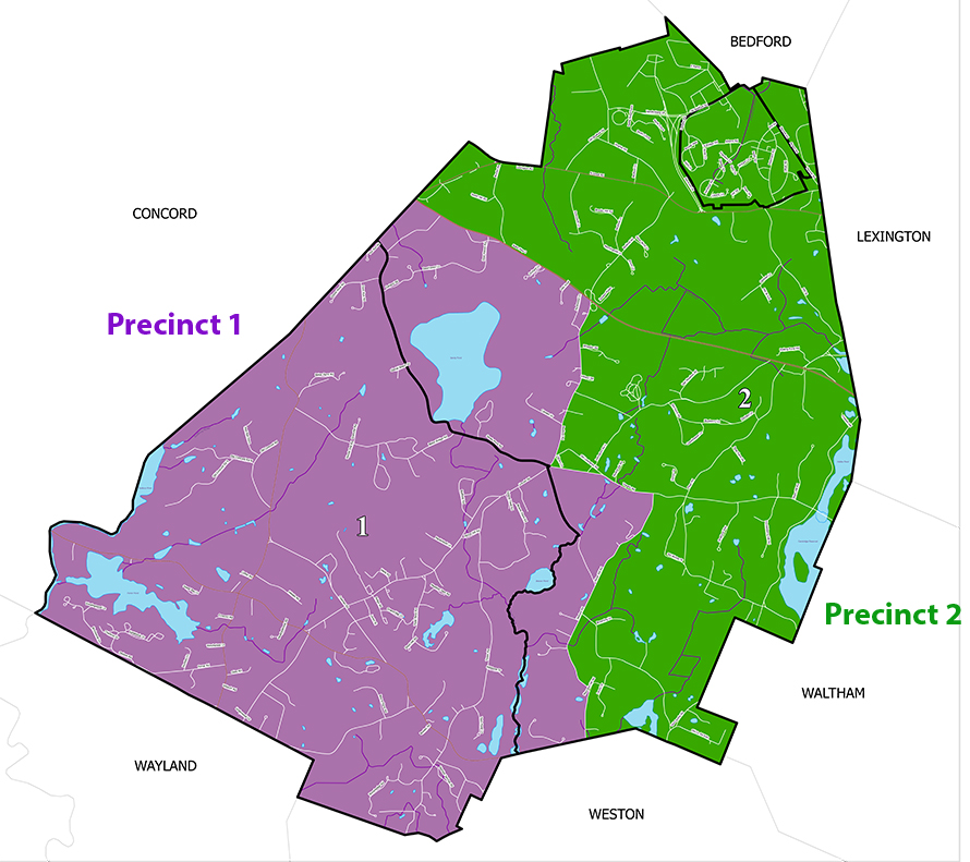 Lincoln's voting precincts (click to enlarge)