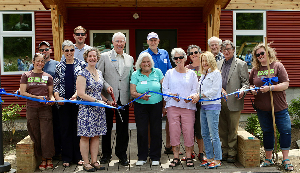 Drumlin Farm Opens New Environmental Learning Center